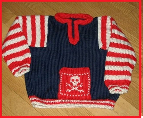 Pirate Sweater Midgauge
