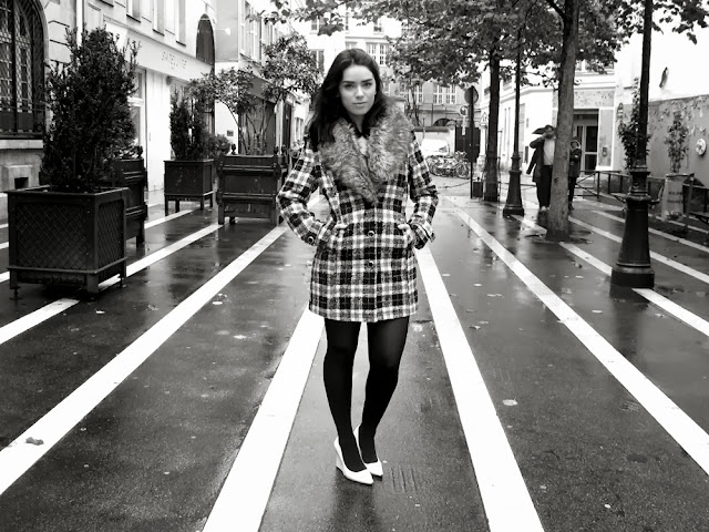 Emma Louise Layla fashion blogger in Paris