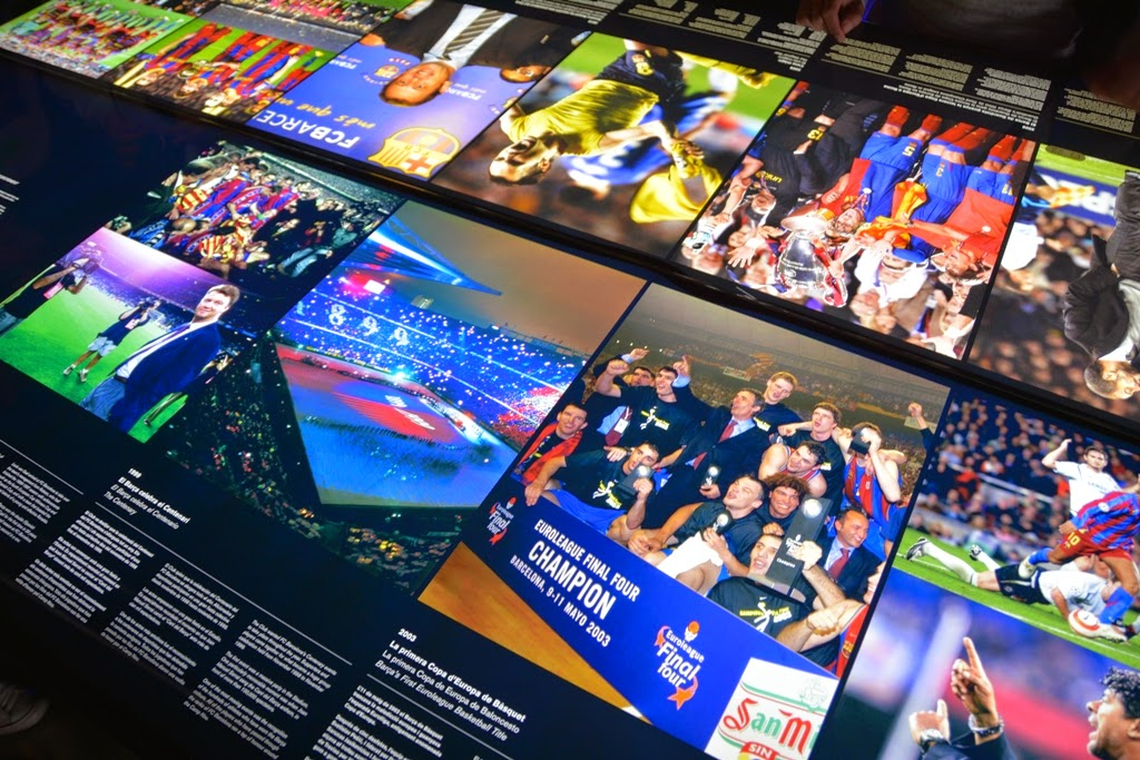 Camp Nou Barcelona Screens