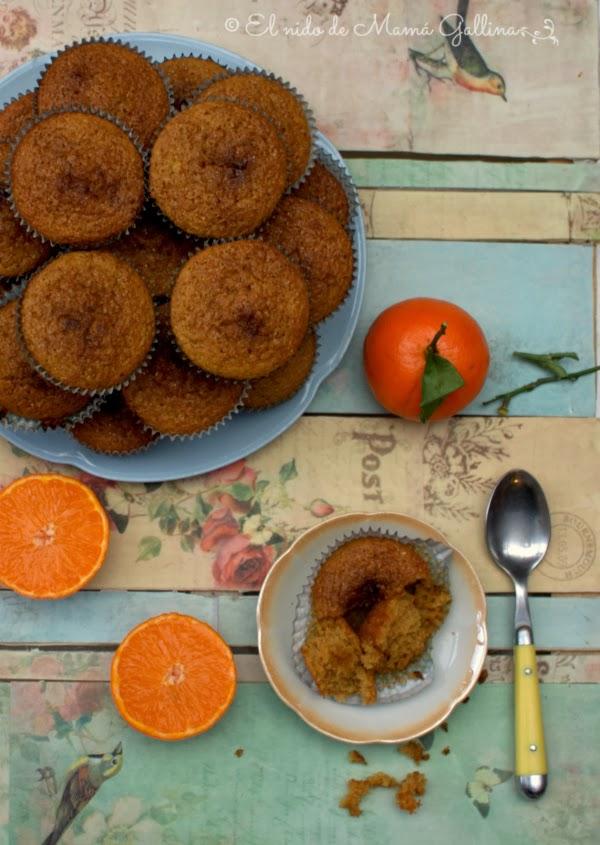 mandarina cupcake