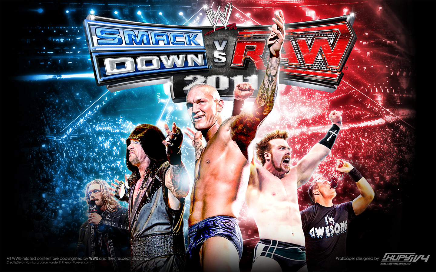 Smackdown Vs Raw 2011 Wallpaper 1440x900
