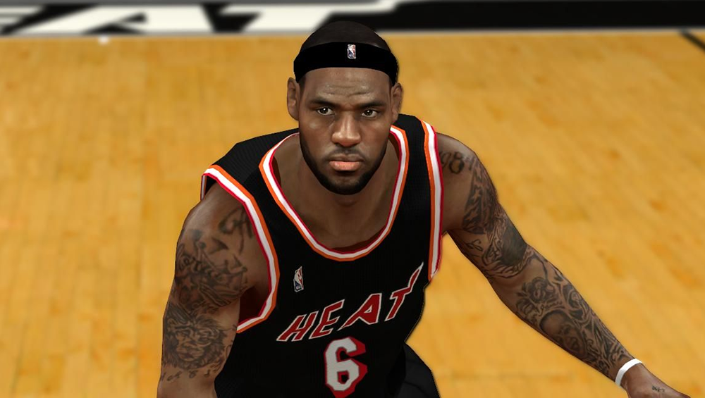 Real LeBron James Face Mod for NBA 2K14