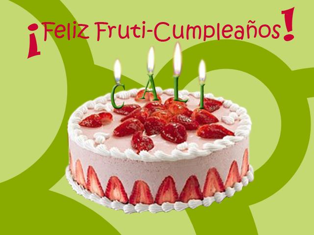 Tarjetas de Cumpleaños con Tortas, parte 2