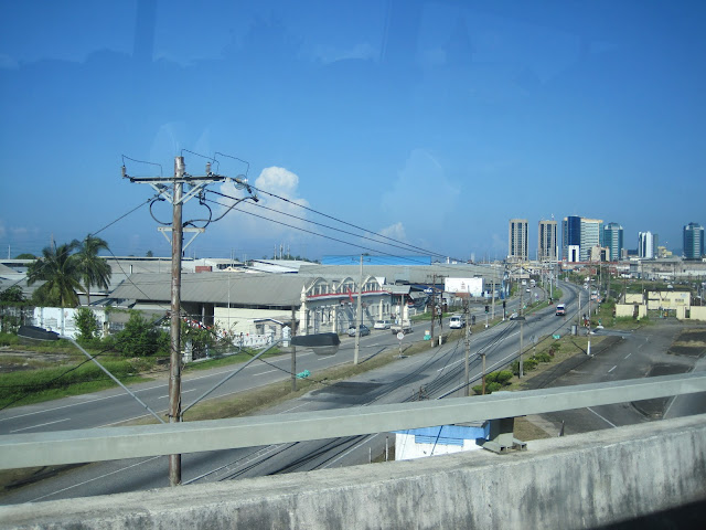 Drive into Port of Spain