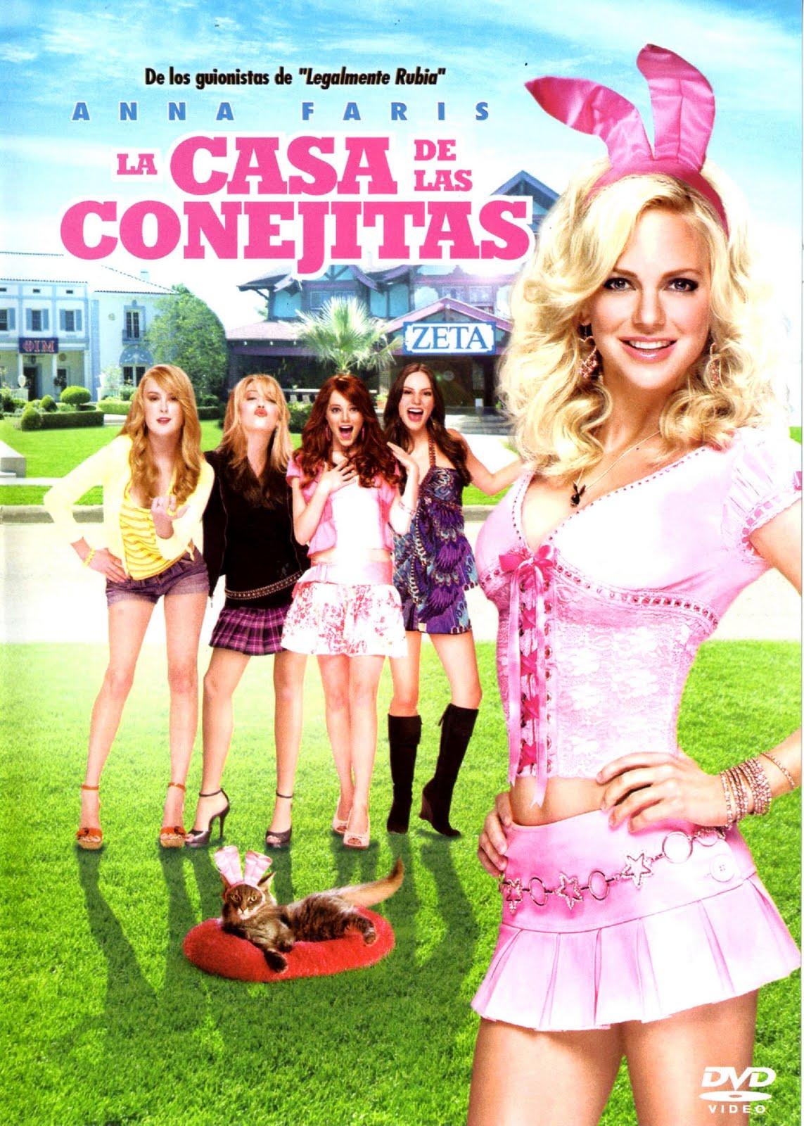 La casa de las conejitas (The House Bunny) (2008)