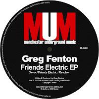 Greg Fenton Friends Electric EP