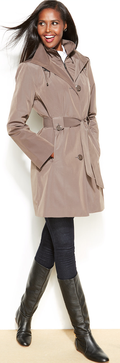 London Fog Belted Trench Coat