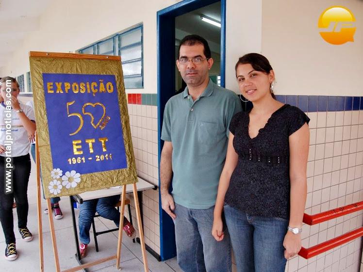 organizadores do evento fabiano e arleide