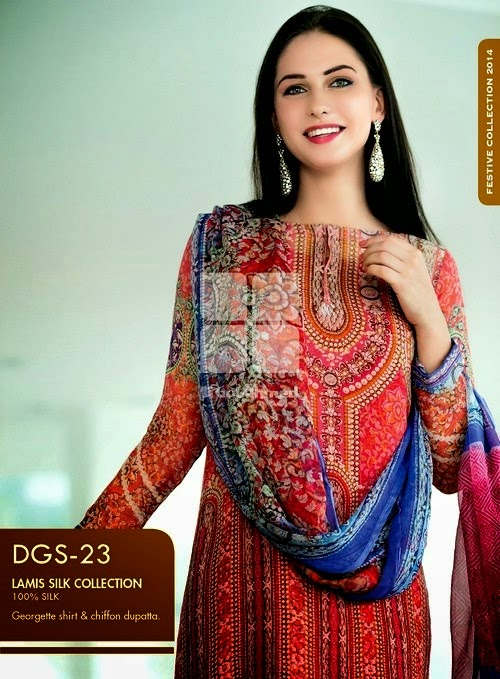 Eid Dress Collection 2014 by Gul Ahmed