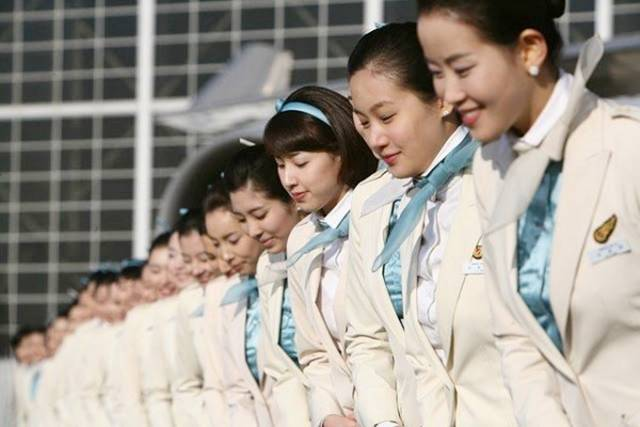 06SouthKorea252CKoreanAirAirHostess - Air Hostess From Different Countries