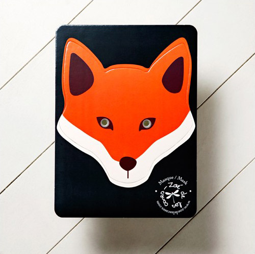 Displaying (17) Gallery Images For Fox Mask Template For Children...