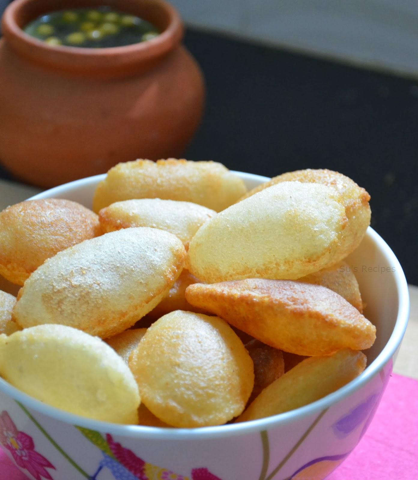 puri for pani puri, how to make puri for pani puri, golgappa, golgappa receipe, small puris