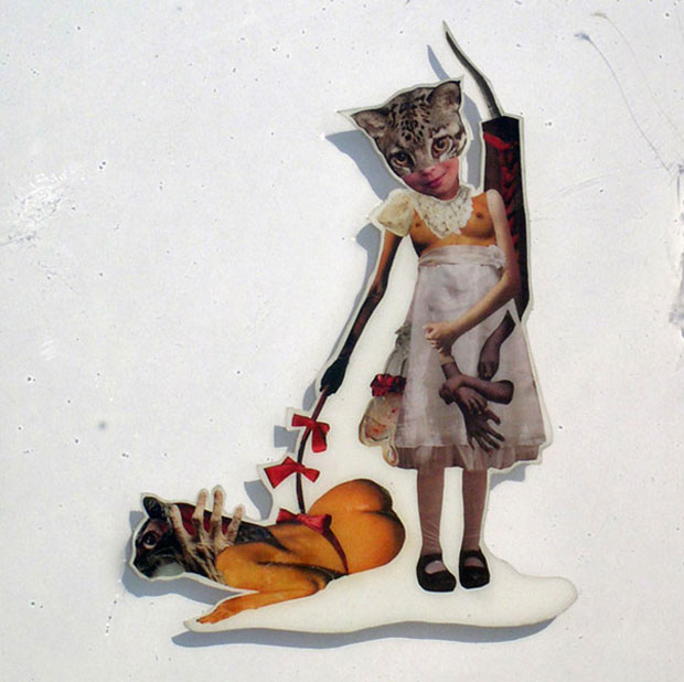 Cut &- Paste'- Art Opening: Traditional Collage Remixed - SF Station ...