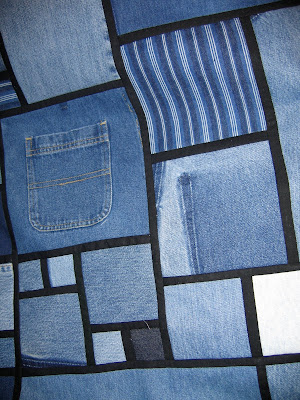 Denim Circle Rag by Inventive Denim | Quilting Pattern