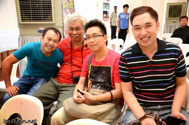 More smiling faces from Penang, Steven, Criz, Criz's bro, and Barry