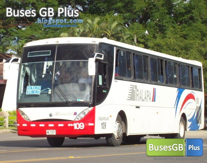 Autobuses guanacaste busesgb plus santa cruz san jose for Mercedes benz san jose