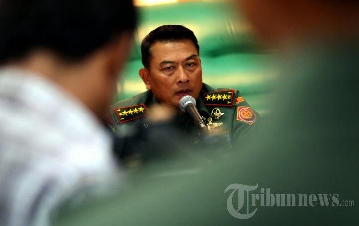 Moeldoko: TNI Gak Boleh Pakai Jaket Parpol