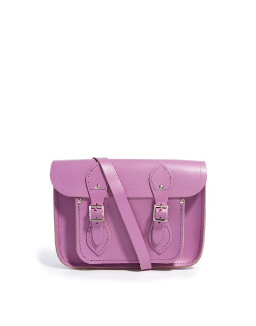 purple cambridge satchel