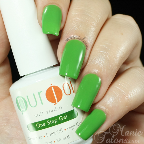 Purjoi One Step Gel Life Swatch