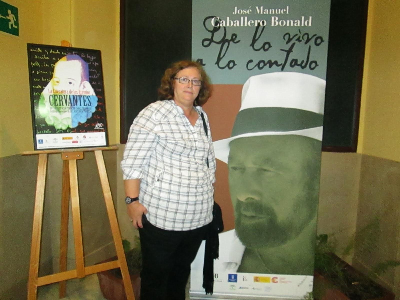 XV C. Caballero Bonald, Premios Cervantes, 2013