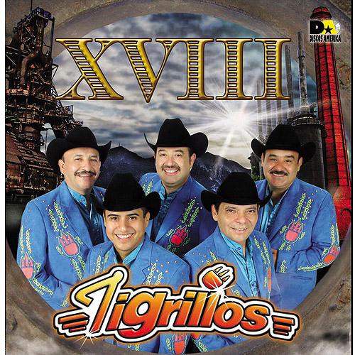 Los Tigrillos - XVIII CD Album 2013