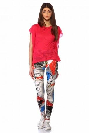 Yeni Moda Bayan Yazlık Tayt Modelleri
