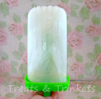 Treats & Trinkets: Cherry Limeade and Lemon Lime Ice Pops