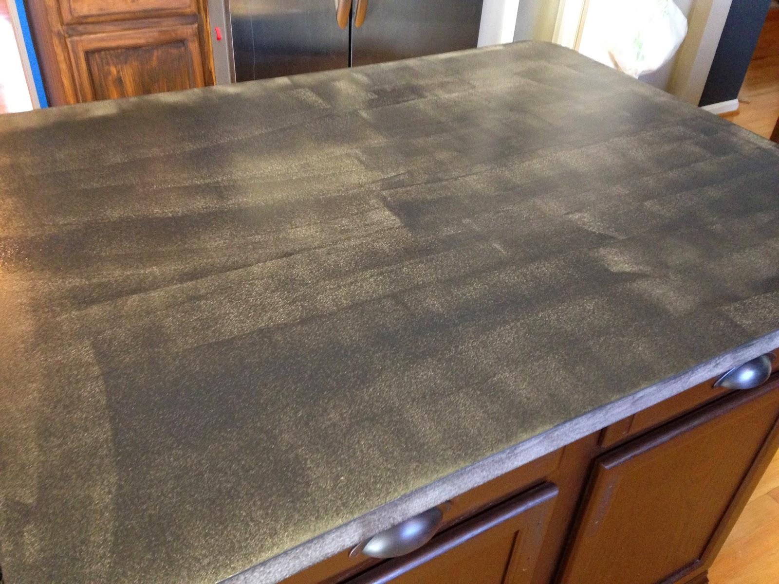 Chalkboard Paint + Countertops