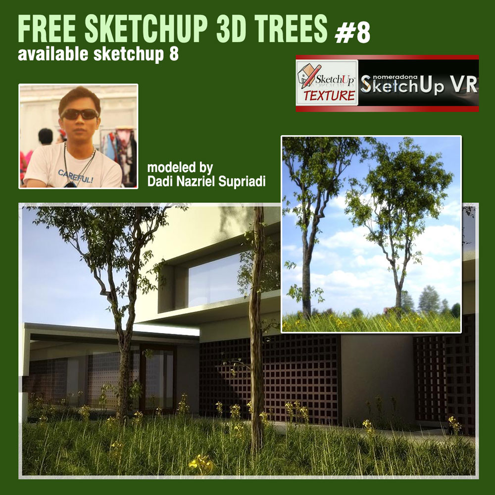 free Sketchup tree 3d