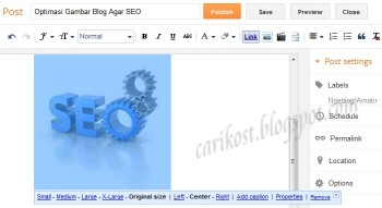 Optimasi Gambar Blog Agar SEO