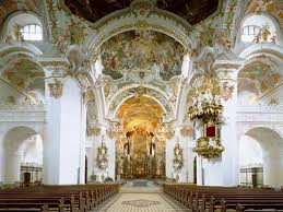 Monastery church of Einsiedeln