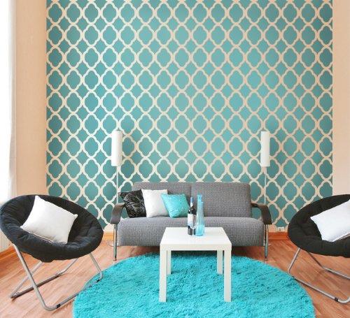 Decoraci n de dormitorio con papel pintado al estilo - Papel para dormitorios ...