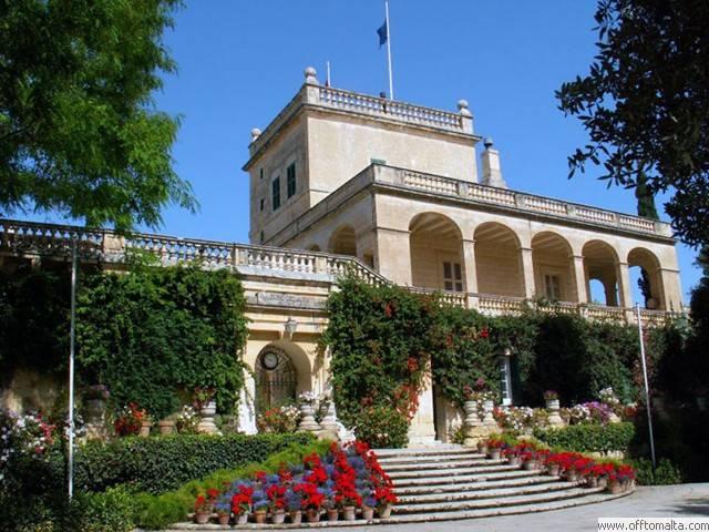 San Anton Palace & Garden, Malta