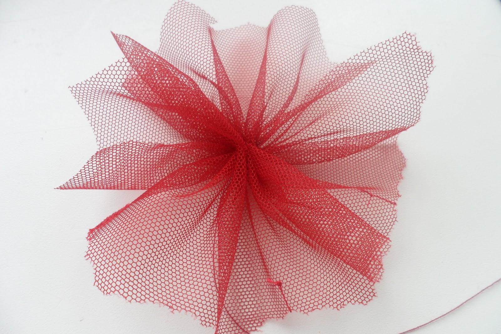 Как сделать из органзы сделать цветок