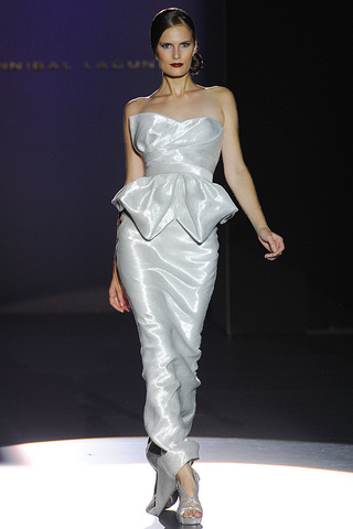 Hannibal Laguna - Cibeles Madrid Fashion Week - Prim / Sommer 2012 - 1 -