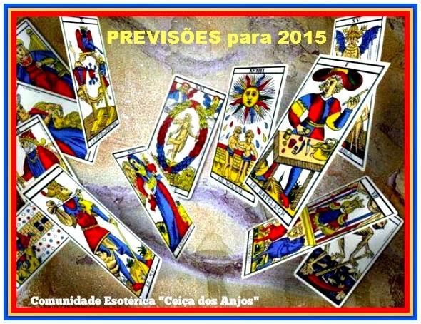 PREVISÕES para 2015