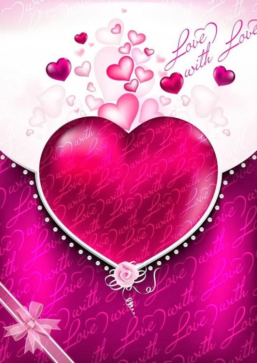Free Valentines Vector Background