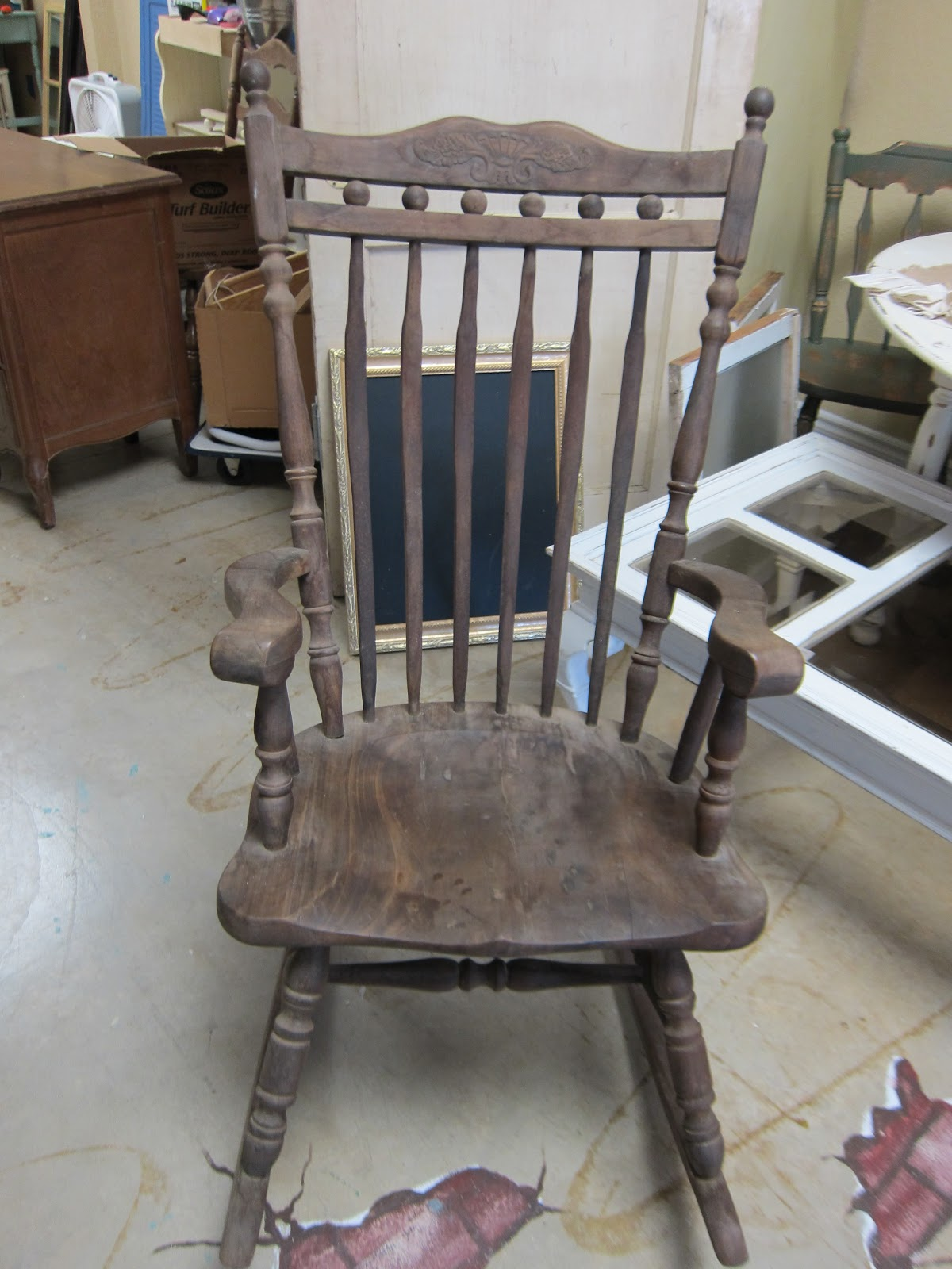Shabby chic painted rocking chairs - Chairs Antique Chairs Contemporary Chairs Rocking Chairs You Pick The Chair The Paint Color And Bring Your Favorite Upholstery We Do All The Work