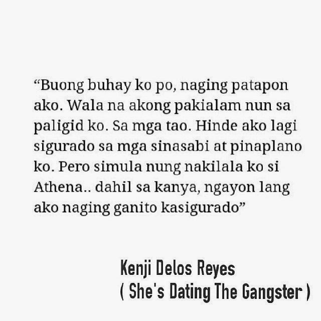 """shes dating the gangster kathniel movie New kathniel movie will be shot abroad this movie will be the last time molina directed the two young artists was in the 2014 movie """"she's dating the gangster."""