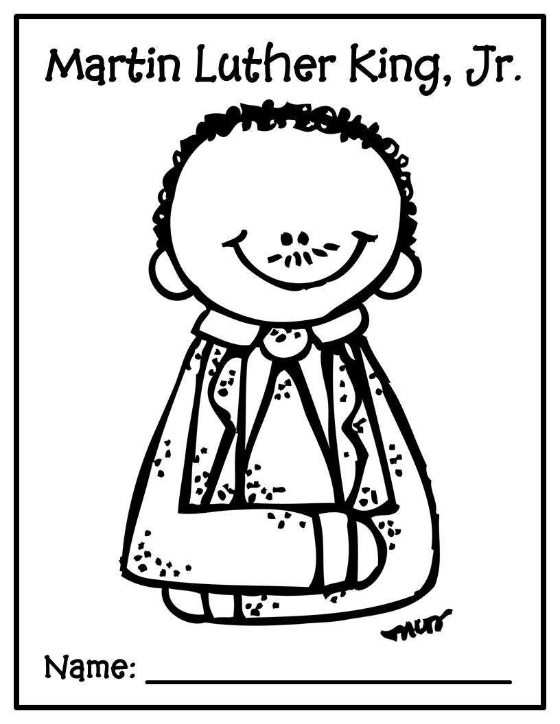 martin luther jr coloring pages - photo#35