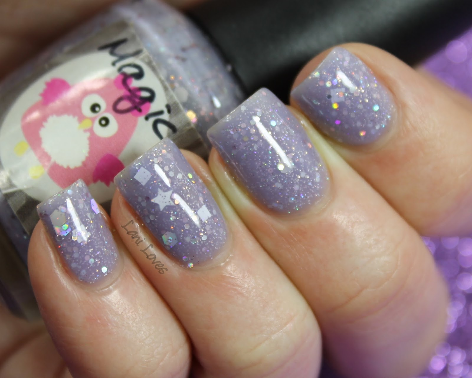 Star Kin Magic Swatch