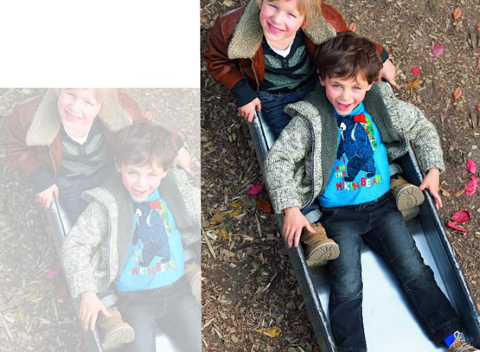 abrigos para niños c&a