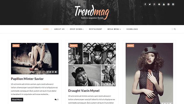 Trendmag - Clean & Responsive Blogger Templates