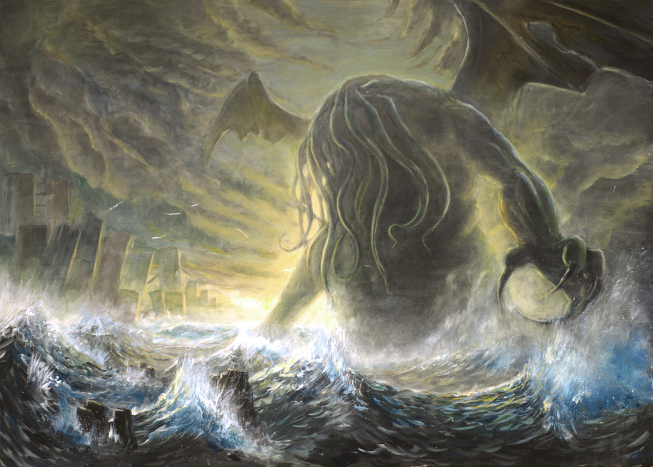 129 Cthulhu HD Wallpapers | Backgrounds - Wallpaper Abyss