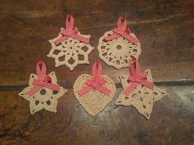 in pigiama decorazioni natalizie all 39 uncinetto On decorazioni natalizie uncinetto tutorial