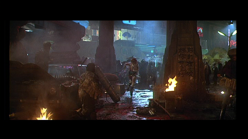 Blade Runner 1982 film ridley scott harrison ford sci fi philip K dick los angeles street