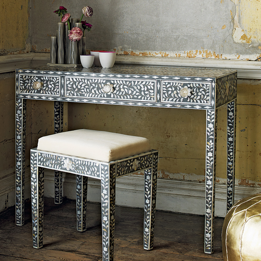 A Touch Of Luxe With Mother Pearl Inlay Furniture