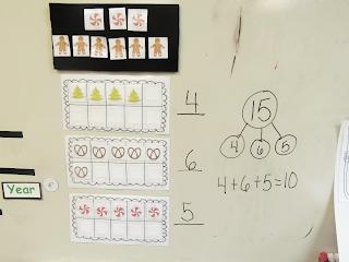 Number Bonds with 3 Addends K-2 1st Grade