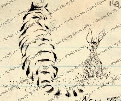 'Tiger' by Reverend JAG Birch (D/DLI 7/63/2(143))