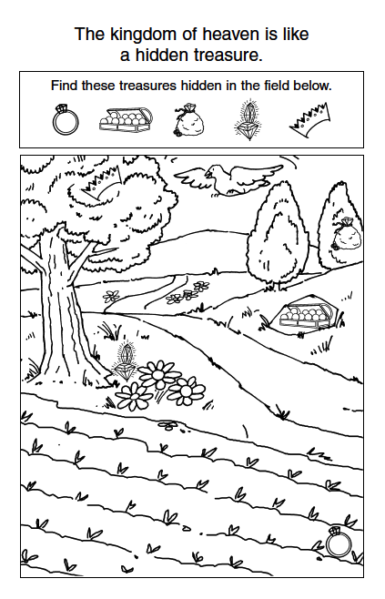 Parable of the rich fool coloring page for The rich fool coloring page